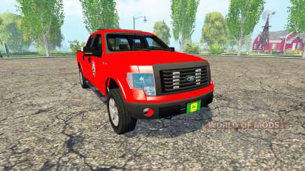 Ford F-150 Fire Department para Farming Simulator 2015