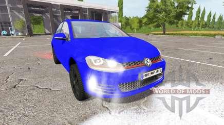 Volkswagen Golf GTI (Typ 5G) para Farming Simulator 2017