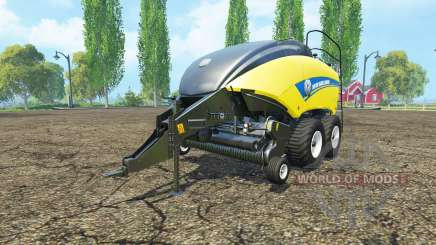 New Holland BigBaler 1290 wet bale para Farming Simulator 2015