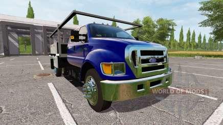 Ford F-650 para Farming Simulator 2017