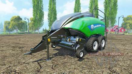 New Holland BigBaler 1290 gras bale para Farming Simulator 2015