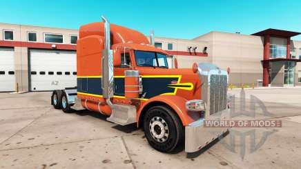 Vintage de la piel para el camión Peterbilt 389 para American Truck Simulator