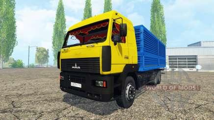 MAZ 6312 para Farming Simulator 2015