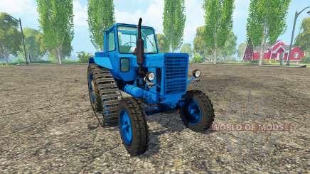 MTZ 80 LITROS de media pista para Farming Simulator 2015
