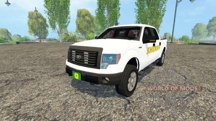 Ford F-150 Sheriff para Farming Simulator 2015