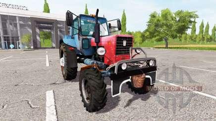MTZ-82 Belarús tuning para Farming Simulator 2017