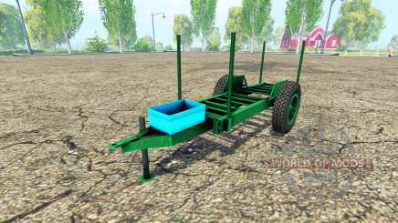 Rústico de madera remolque para Farming Simulator 2015