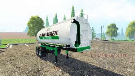 Zunhammer BiTrem para Farming Simulator 2015