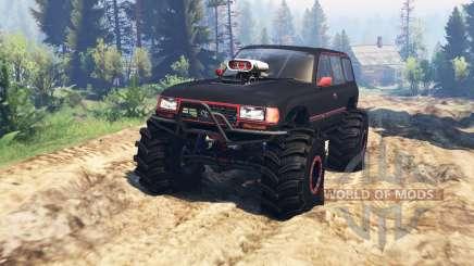 Toyota Land Cruiser 80 VX v2.0 para Spin Tires