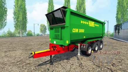 Hawe CSW 5000 para Farming Simulator 2015