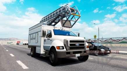 De tráfico avanzada v1.9 para American Truck Simulator
