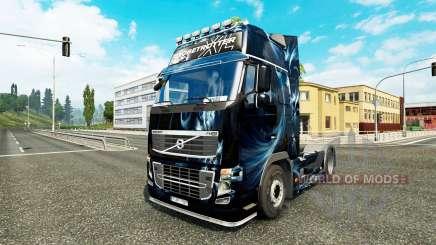 Resumen Efecto de la piel para camiones Volvo para Euro Truck Simulator 2