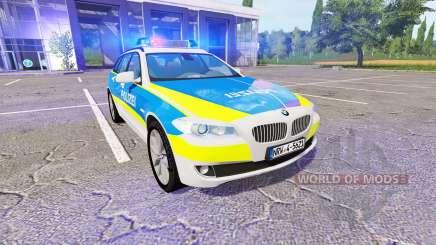 BMW 520d Touring (F11) NRW v2.0 para Farming Simulator 2017