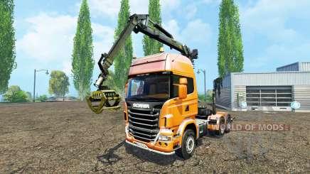 Scania R730 forest para Farming Simulator 2015