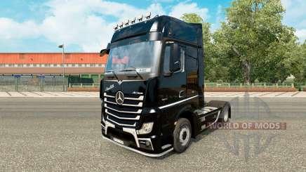 La piel Brutale para tractor Mercedes-Benz para Euro Truck Simulator 2
