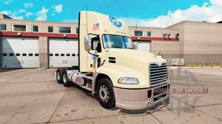 La piel Stater Bros, el Mack Pinnacle tractor para American Truck Simulator