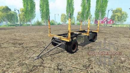 Bosque de remolque GKB para Farming Simulator 2015
