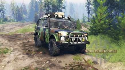 VAZ 2121 Niva Expedición v4.0 para Spin Tires
