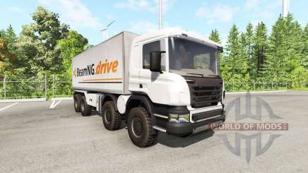 Scania 8x8 heavy utility truck v2.0 para BeamNG Drive