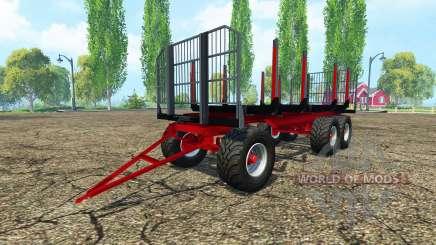 Timber trailer Fliegl para Farming Simulator 2015