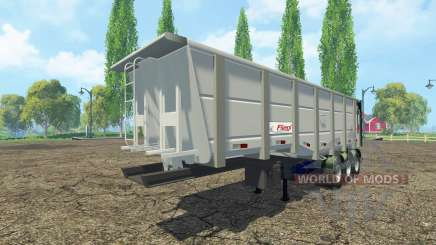 Tipper semi-trailer Fliegl para Farming Simulator 2015