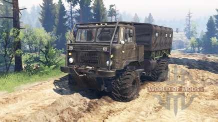 GAZ-66 ATV v2.0 para Spin Tires
