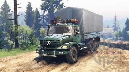 Mercedes-Benz Zetros 2733 A v2.0 para Spin Tires