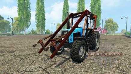 MTZ 1221В.2 v2.1 para Farming Simulator 2015