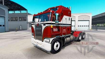 La piel de Billie Joe en el tractor Kenworth K100 para American Truck Simulator