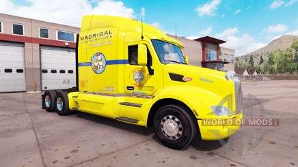 La piel de Los Pollos Hermanos camión Peterbilt 579 para American Truck Simulator