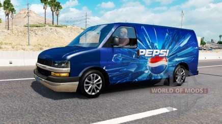Los logotipos de la empresa en el tráfico de v0.7 para American Truck Simulator