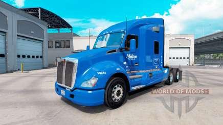 La piel en Melton camión Kenworth T680 para American Truck Simulator