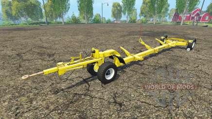 El trailer de la cosechadora New Holland para Farming Simulator 2015