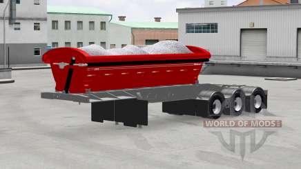 Volquete semirremolque Midland TW3500 para American Truck Simulator