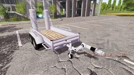 Remolque de coche YSM para Farming Simulator 2017