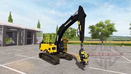 Volvo EC300E foresty cutter para Farming Simulator 2017