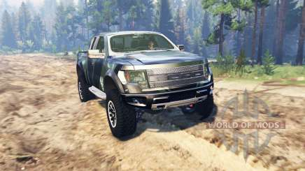Ford F-150 SVT Raptor Super Cab para Spin Tires