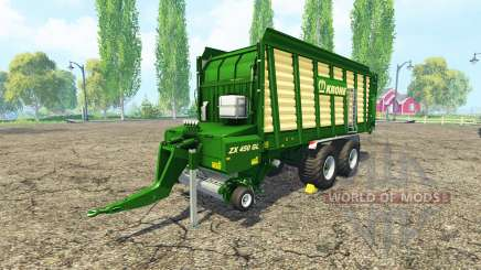 Krone ZX 450 GL v2.0 para Farming Simulator 2015