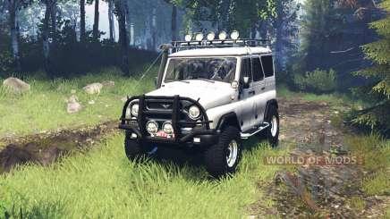 UAZ 315195 hunter v5.0 para Spin Tires