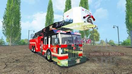 Camión de bomberos para Farming Simulator 2015