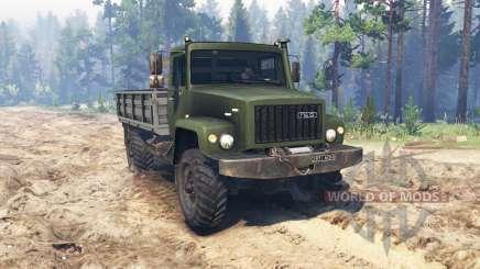 GAZ 3308 para Spin Tires