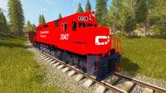 Canadian Pacific Train para Farming Simulator 2017
