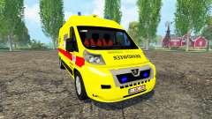 Peugeot Boxer Belgian Ambulance