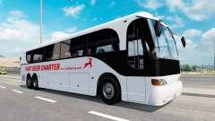 Una colección de autobuses en el tráfico de v1.1