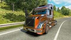 Volvo VNL 670 v5.0 para Euro Truck Simulator 2