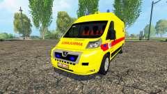 Peugeot Boxer Belgian Ambulance Klina