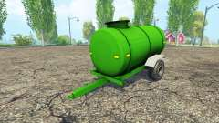 Combustible remolque
