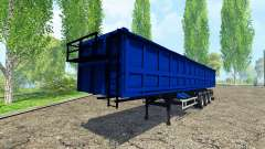 Tonar tipper semi-trailer