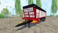 Forage trailer