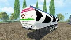 Molokovozy semirremolque Fliegl v0.9 para Farming Simulator 2015